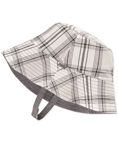 b9e13c280e4f6 ... First Impressions Reversible Chambray Bucket Hat