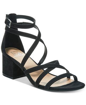 59da06780d1f Material Girl Inez Block-Heel Sandals