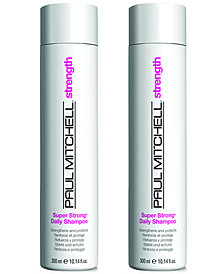 Paul Mitchell Super Strong Daily Shampoo Duo (Two Items), 10.14-oz., from PUREBEAUTY Salon & Spa