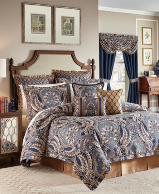 Croscill Aurelio 4Pc California King Comforter Set Comforters