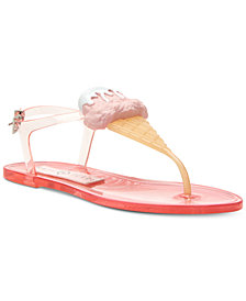 Katy Perry Sundae Flat Jelly Sandals