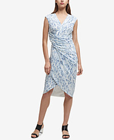 DKNY Twisted Sheath Dress, Created for Macy's