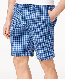 "Tommy Bahama Men's Check Your Swing Classic-Fit Stretch Windowpane 10"" Shorts"