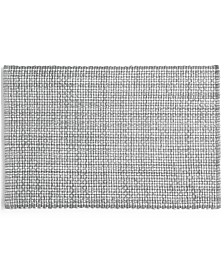 Martha Stewart Collection Gray Woven Cotton Placemat, Created for Macy's