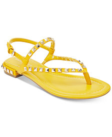 Marc Fisher Pamali Studded Flat Sandals