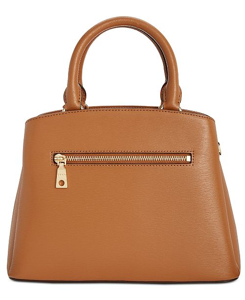 Dkny Paige Leather Medium Satchel Created For Macy S