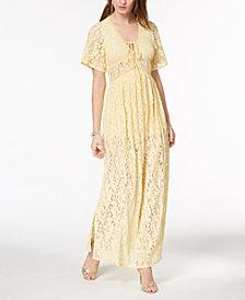Disney Princess Juniors' Lace Maxi Dress