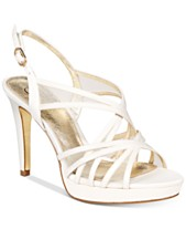 e092ab646d18 Ivory Cream Bridal Shoes and Evening Shoes - Macy s
