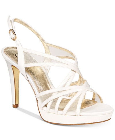 Adrianna Papell Adri Platform Strappy Sandals
