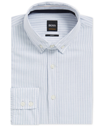 BOSS Men's Slim-Fit Cotton Sport Shirt