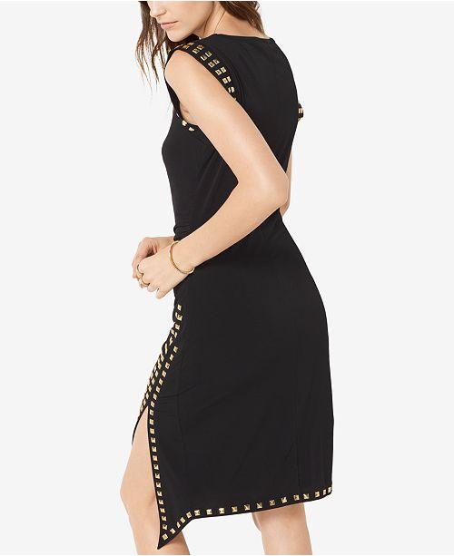 Michael Kors Studded Sheath Dress In Regular Petite Sizes