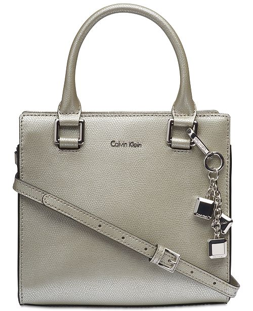 2429c5ef5ef Calvin Klein Logan Crossbody & Reviews - Handbags & Accessories ...