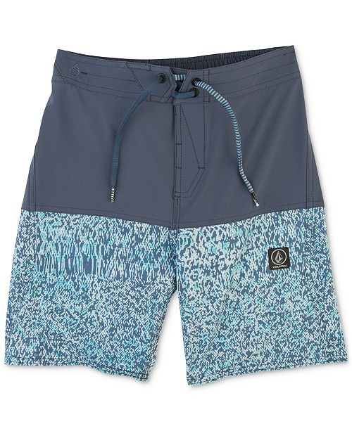 07ae19362484c Volcom Vibes Swim Trunks, Little Boys & Reviews - Swimwear - Kids ...