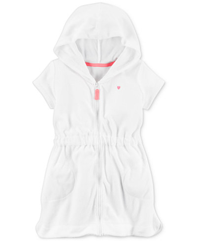 Carter's Hooded Bathing Suit Cover-Up, Little Girls & Big Girls