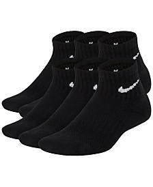 Nike 6-Pk. Cushioned Crew Socks, Big Boys