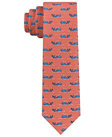 Tommy Hilfiger Whale-Print Necktie, Big Boys