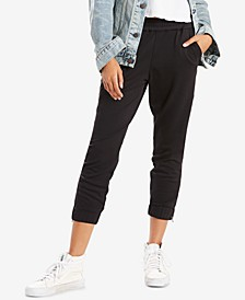 Jet Set Tapered Zip-Hem Pants