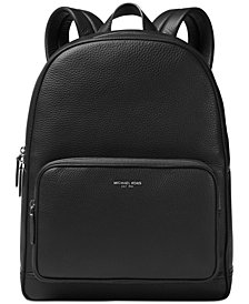 Michael Kors Men's Bryant Leather Backpack