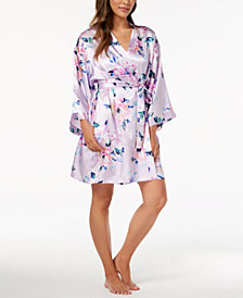 Thalia Sodi Floral-Print Wrap, Created for Macy's