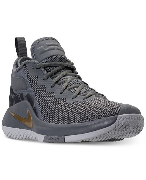 best service cdad2 71379 ... Nike Men s LeBron Witness II Basketball Sneakers from Finish ...