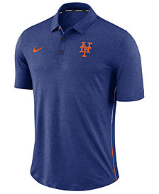 Nike Men's New York Mets Dri-FIT Breathe Touch Polo