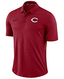 Nike Men's Cincinnati Reds Dri-FIT Breathe Touch Polo