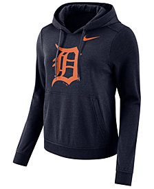 Nike Women's Detroit Tigers Club Pullover Hoodie