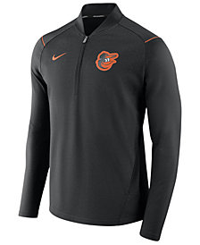 Nike Men's Baltimore Orioles Dry Elite Half-Zip Pullover