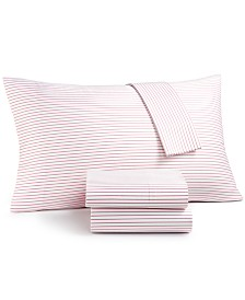 CLOSEOUT! Charter Club Damask Designs Printed Extra Deep California King 4-pc Sheet Set, 500 Thread Count, Created for Macy's