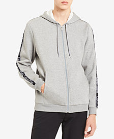 Calvin Klein Men's Full-Zip Logo Hoodie