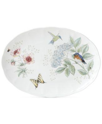 Butterfly Meadow Flutter Oval Platter