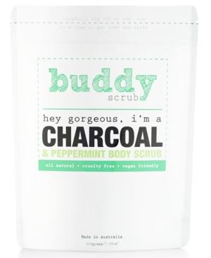 Buddy Scrub Activated Charcoal  Peppermint Body Scrub 7oz