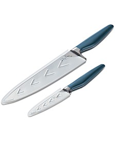 Ayesha Curry 4-Pc. Knife and Sheath Set