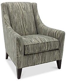 Merloni Fabric Club Chair