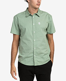RVCA Men's Stress Button-Up Shirt