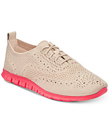 Cole Haan Zerøgrand Stitchlite Wingtip Oxford Sneakers