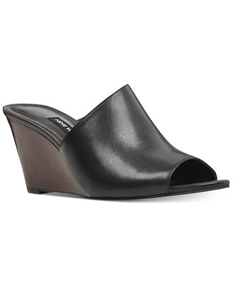 Janissah Slip On Wedge Sandals by Nine West