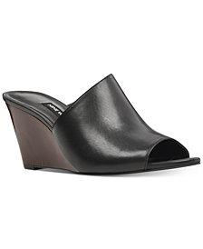 Nine West Janissah Slip-On Wedge Sandals