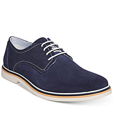 Steve Madden Men's Frick Suede Plain-Toe Lace-Up Oxfords