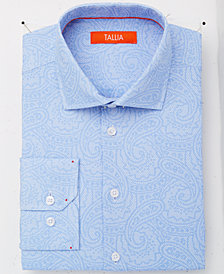 Tallia Men's Slim-Fit Tonal Paisley Dress Shirt