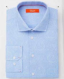 Tallia Men's Slim-Fit Tonal Paisley Dress Shirt