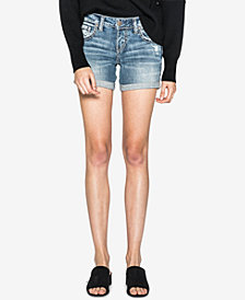 Silver Jeans Co. Sam Denim Boyfriend Shorts