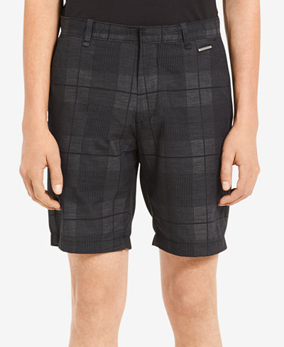 Calvin Klein Men's Plaid Dobby 9