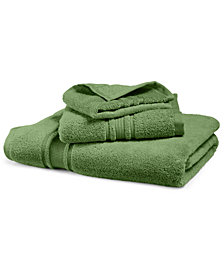 Hotel Collection Quick-Dry Supima® Cotton Washcloth, Created for Macy's