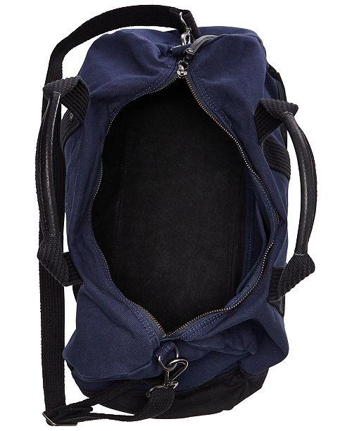 Polo Ralph Lauren Men s Canvas Big Pony Duffel Bag - All Accessories ... c344d0da9f