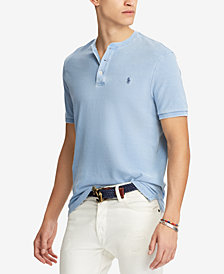 Polo Ralph Lauren Men's Featherweight Mesh Henley T-Shirt