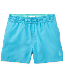 Ralph Lauren Embroidered Swim Trunks, Baby Boys