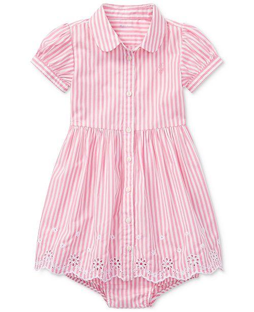 e1a627db0 Polo Ralph Lauren Ralph Lauren Bengal-Striped Cotton Shirtdress ...