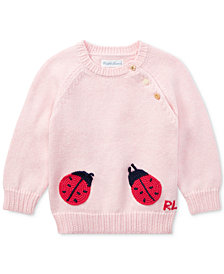 Ralph Lauren Cotton Sweater, Baby Girls