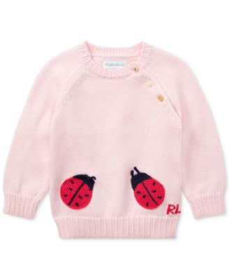 Polo Ralph Lauren. Ralph Lauren Cotton Sweater, Baby Girls. 1 reviews. main  image
